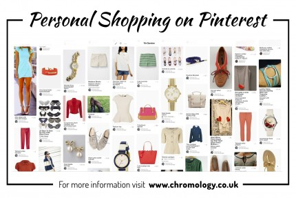 Personal styling and guided shopping on Pinterest with Chromology SciART Colour Consultancy